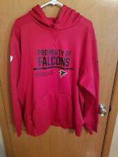 Atlanta Falcons Nike Therma-Fit Men's Hooded Sweatshirt Hoodie Red Size XL