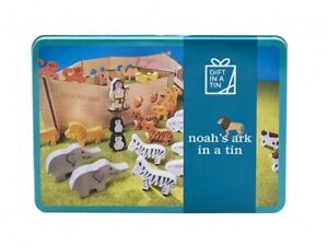 Noah's Ark in a big Tin. Make and play.