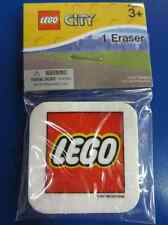 Lego City Movie Toy Game Kids Birthday Party Favor Mini Eraser - Lego Logo