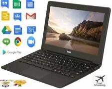 "Dell Laptop Chromebook INTEL CELERON 2955U 11.6"" 4GB RAM 16GB SSD"