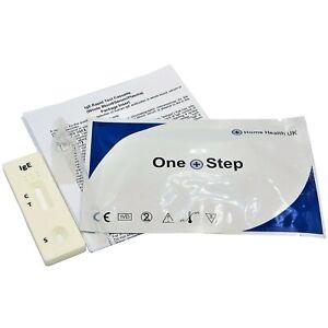 5 x Allergy IgE Tests Immunoglobulin E GP Professional Blood Testing Kits