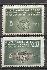 7078-2 SELLOS FISCALES DISTINTOS UNO HABILITADO SOBRECARGA+ 10 PTS.,SELLOS FISCA