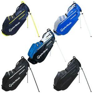2021 TaylorMade Herren Flextech Wasserdicht Golf Golftasche Doppel Tragegurt