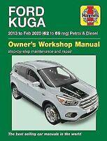 Ford Kuga 1.5 Ecoboost & 1.5 2.0 Diesel 2WD 4WD 2013-2020 Haynes Manual 6464