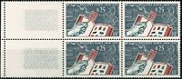 France Bloc de 4  n° 1401 Neuf  ★★ luxe / MNH  1963 BDF