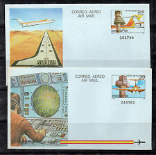 España Aviones Aerogramas  del año 1984 (CT-105)