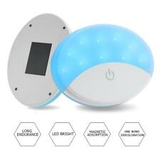 Dual Color LED Car Interior Dome Light USB Auto Roof Trunk Ceiling Reading Lamp