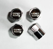 Chrome Range Rover Wheel Valve Dust Caps.Sport Vogue HSE Evoque