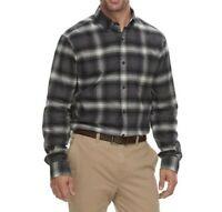 Mens Shirt XLT Big /& Tall NEW Ruby Plaid CHAPS XL Stretch X LARGE Easy Care Top