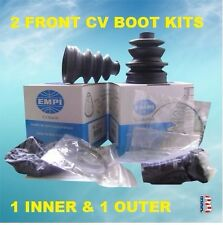 2 ATV CV AXLE Boot Kit FIT 2000-2006 HONDA TRX 350 RANCHER 4X4 FRONT INNER OUTER