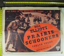Prairie Schooners Movie Poster, 1940, Original