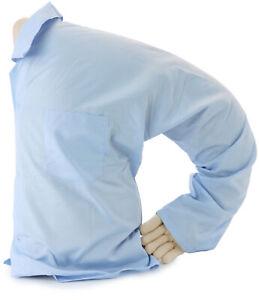 Boyfriend Pillow - Cuddly Form Body Pillow with Benefits - Body Pillow, Blue