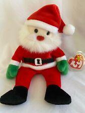 TY Beanie Baby SANTA the Christmas Santa Claus 04203 Stuffed Plush Toy Vintage