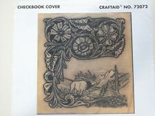 Vintage Craftaid #72072 for a Checkbook Cover