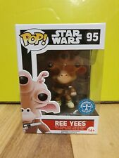 💕💖 Funko Pop Star Wars 95 Ree Yees Underground Toys Exclusive + Protector 💖💕