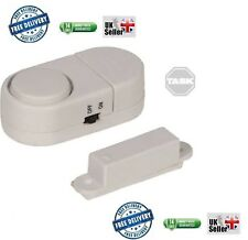 TASK MAGNETIC WIRELESS WINDOW AND DOOR SHED GARAGE ALARM  317781 WITH BATTERIES
