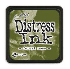 Distress Mini Ink Pad-forest Moss - Tim Holtz Pad Ranger Forest
