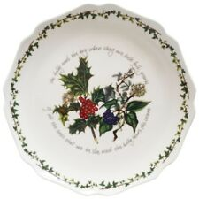 Portmeirion The Holly and The Ivy Scallop Platter - NEW BOXED UNUSED