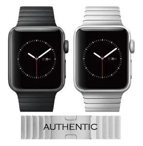 Apple Watch Edelstahl Metall Glieder Armband 38 40 42 44mm Series SE 6 5 4 3 2 1