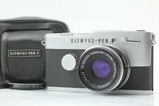 "Refurbished"" Exc+5 "" Olympus Pen FT Half Flame w/ F.Zuiko Auto-s 38mm f1.8 JAPAN"