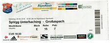 SpVgg Unterhaching - Großaspach vom 09.08.2014