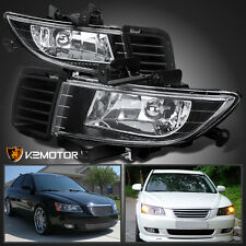 Fit 2006-2008 Hyundai Sonata Clear Lens Bumper Driving Fog Lights+Bulbs+Switch