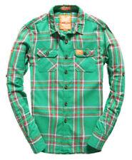 Ropa de hombre verde Superdry 100% algodón