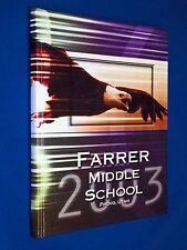 2002 2003 Farrer Middle Junior High School Yearbook Provo Utah Year Book
