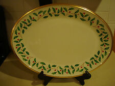 "Lenox Holiday 13"" Oval Platter"