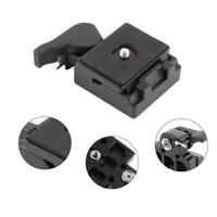 Quick Release Plate Clamp Adapter For Manfrotto 200PL-14 M8B9 System Tripod S8F0