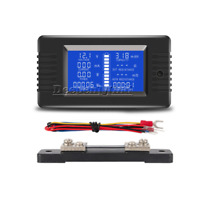 PZEM-015 LCD Battery Tester Monitor DC Voltage Current Power Capacity+50A Shunt