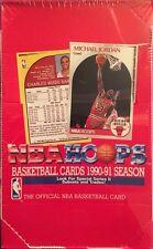 1990/91 HOOPS  Series 2 Basketball NBA WAX BOX Unopened 36 packs