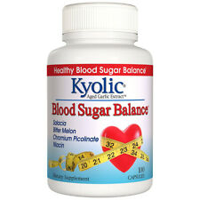 Kyolic - Blood Sugar Balance - 100 Capsules