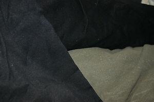 FOAM FABRIC BLACK UPHOLSTERY FELT LINER TYPE FABRIC MIDWEIGHT SOFT FEEL
