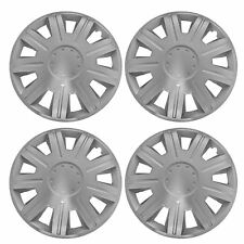 "4 x NEX Wheel Trims Hub Caps 15"" Covers fits Nissan Micra  Note Pixo Primera"