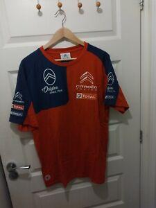 Citroen Racing Motorsport Size Men's XXXL T-Shirt WRC Rally