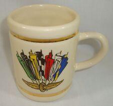 1991 Indianapolis 500 Collectors Winners Coffee Cup Rick Mears Marlboro Penske