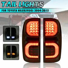Smoked LED Tail Brake Light Lamp For Toyota Hilux Vigo KUN26 SR SR5 Workmate AU