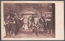 QUO VADIS 22 FILM CINEMA MUTO SILENT MOVIE 1912 Cartolina NON FOTOGRAFICA