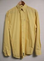 Genuine Vintage BEN SHERMAN Men's Shirt - Lemon / Big Retro Collar - M