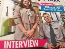 Noi amiamo TV MAGAZINE OTTOBRE 2015 Nicola WALKER Russell Tovey Anne-Marie DUFF