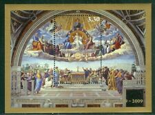 2009 Vatican City Sc# 1425: The Disputation of the Holy Sacrament MNH sheet
