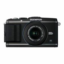Near Mint! Olympus E-P3 12.3 MP with 14-42mm Black - 1 year warranty
