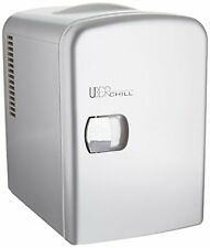 Uber Appliance UB-CH1 Uber Chill 6-can Mini Fridge GUNMETAL  **OPEN BOX DEAL**