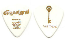 SUGARLAND Guitar Pick : 2011 Tour - I Was There key Ernie Ball picks white gold