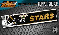 DALLAS STARS Vintage Bumper Sticker - Unused - NOS - NM