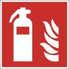 Feuerlöscher Schild Brandschutzzeichen nachleuchtend Piktogramm Symbol ASR ISO