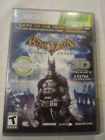 Batman: Arkham Asylum - Xbox 360 Game with manual case and disc
