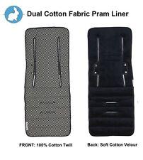 Keep Me Cosy™ Pram Liner & Pram Accessories, Universal, Cotton – Ink Spot