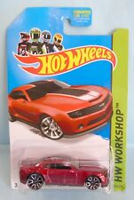 3079 HOT WHEELS / CARTE US /HW WORKSHOP 2013 / 2013 CAMARO SPECIAL EDITION 1/64